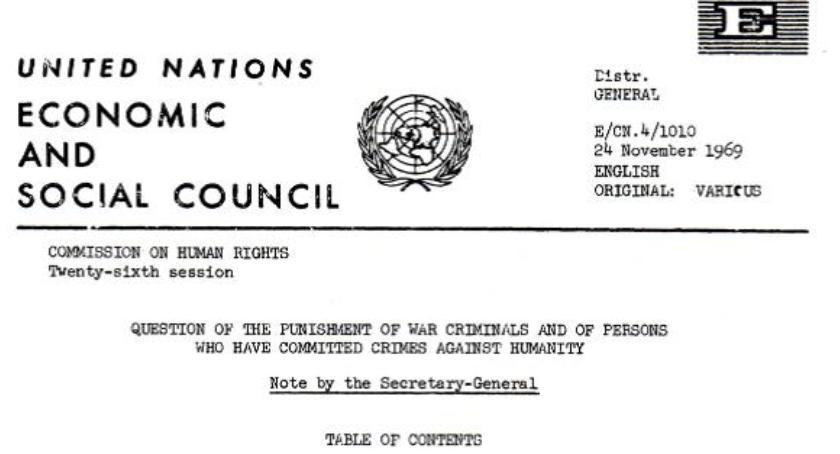 historia, Oświadczenie rządu września złożone ręce Sekretarza Generalnego - zdjęcie, fotografia