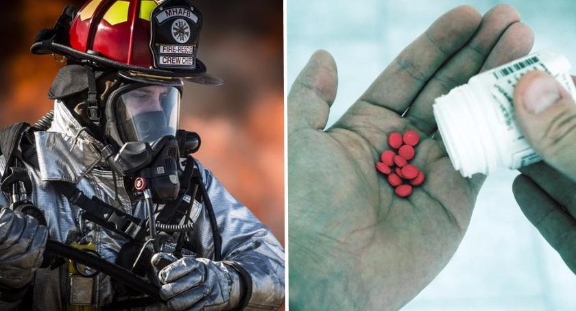 bezpieczeństwo, Narkotyki Szkole Głównej Pożarniczej - zdjęcie, fotografia