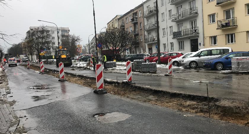 ulice, Duże zmiany Potockiej - zdjęcie, fotografia