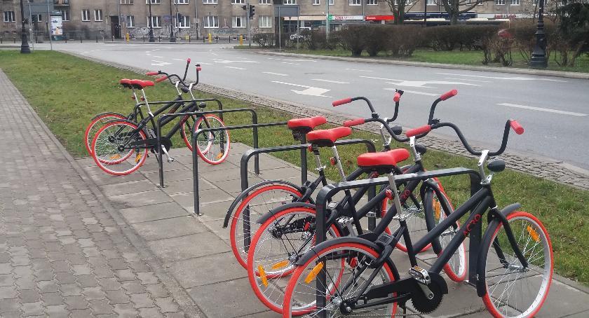 rowery, Rowery Żoliborzu - zdjęcie, fotografia