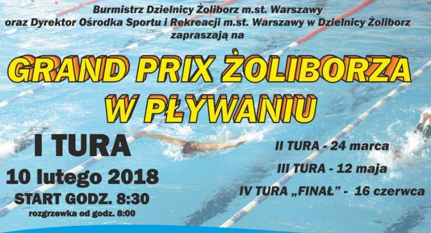pływanie, GRAND ŻOLIBORZA PŁYWANIU - zdjęcie, fotografia