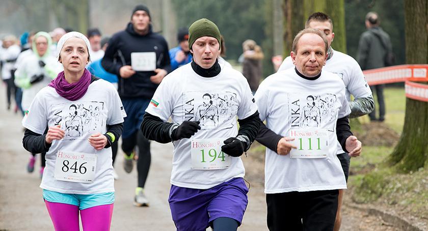 bieganie, Tropem Wilczym - zdjęcie, fotografia