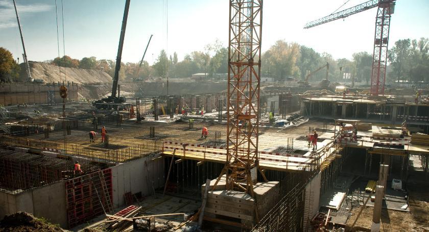 inwestycje , wizytą budowie Muzeum Wojska Polskiego - zdjęcie, fotografia