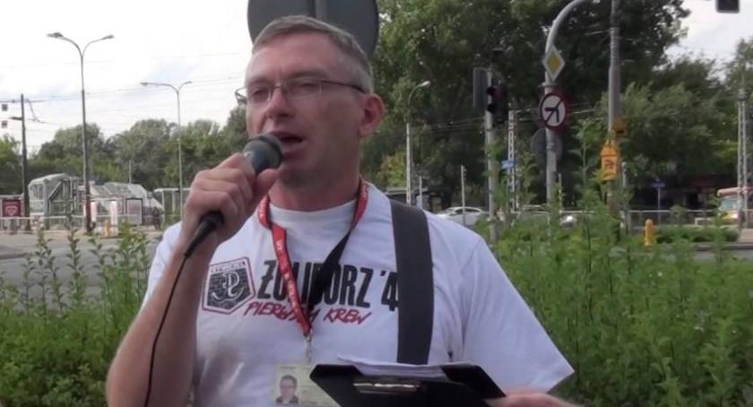 historia, Wokół skweru Twardowskiego wykład Piotra Wierzbickiego - zdjęcie, fotografia