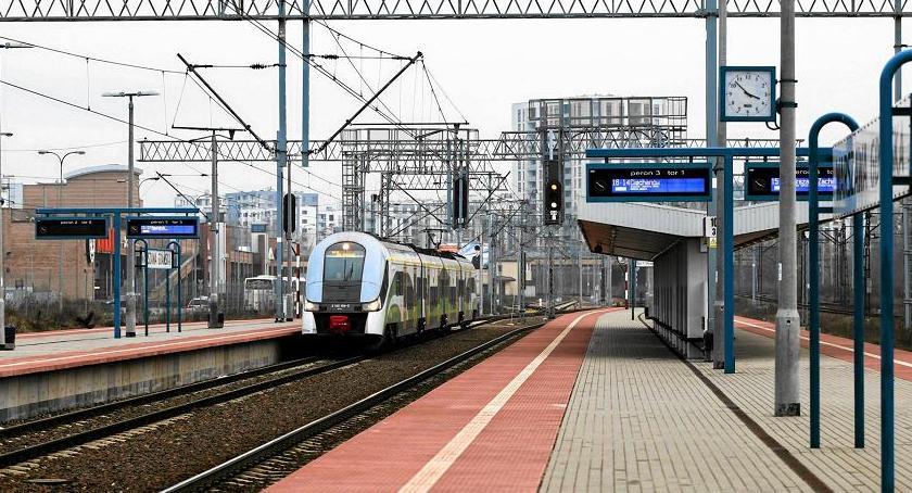 inwestycje , Stacja kolejowa Powązki - zdjęcie, fotografia