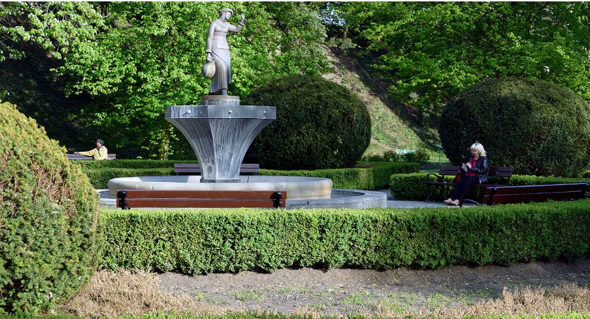 zieleń, Żeromskiego wspomnienie parku - zdjęcie, fotografia