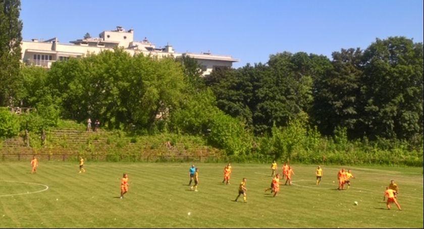 piłka nożna, słychać Potockiej - zdjęcie, fotografia