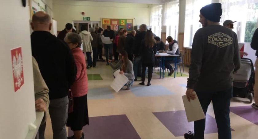 polityka, głosował Żoliborz - zdjęcie, fotografia