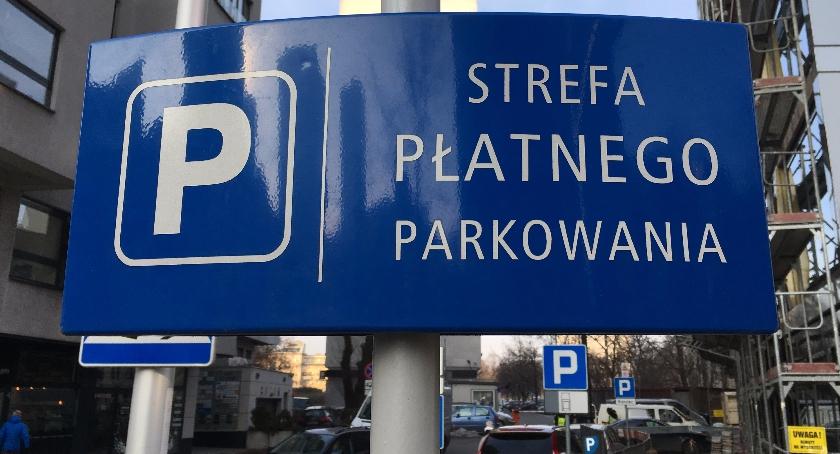 komunikacja, Strefa Płatnego Parkowania Żoliborzu - zdjęcie, fotografia