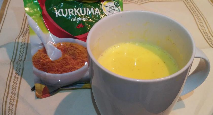 kuchnia Informatora, Złote mleko napój kurkumą - zdjęcie, fotografia