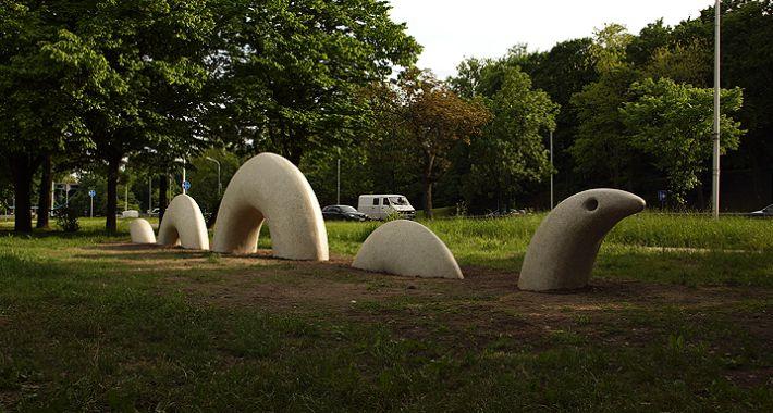 pomniki i ekspozycje, węża - zdjęcie, fotografia