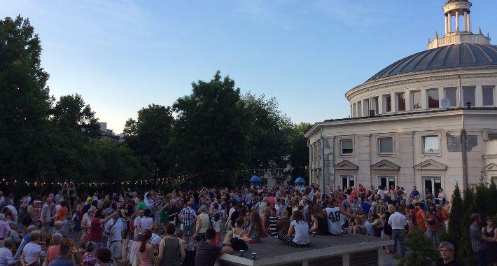 imprezy plenerowe, Żoliborz oszalał - zdjęcie, fotografia