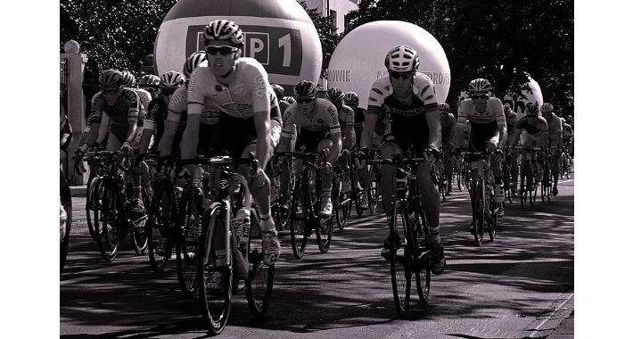 rowery, Pologne Żoliborzu - zdjęcie, fotografia