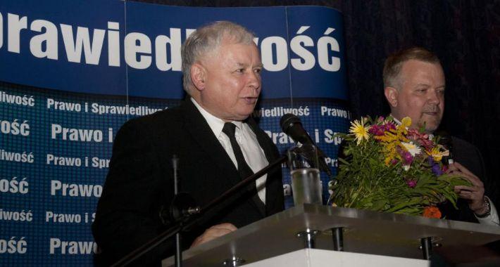 polityka, Kaczyński Kinie Wisła - zdjęcie, fotografia