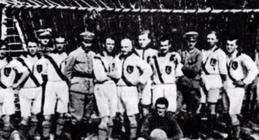 piłka nożna, stulecie Legii - zdjęcie, fotografia