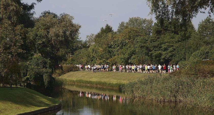 bieganie, Rotmistrza Pileckiego - zdjęcie, fotografia