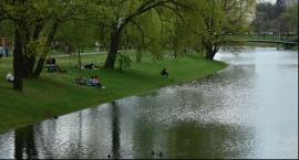 Fotorelacja z nad kanałku na Żoliborzu