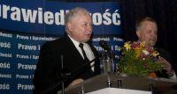 Kaczyński w Kinie Wisła