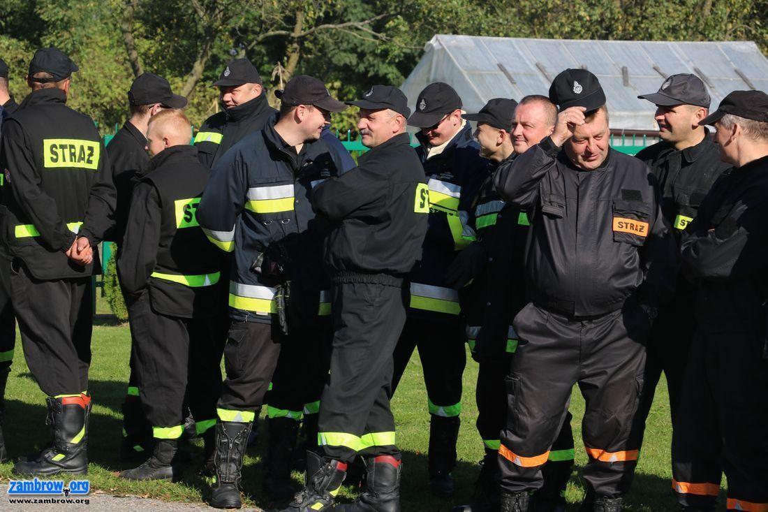 pożary i straż, Strażacy walczyli żywiołem Srebrnej [foto+video] - zdjęcie, fotografia