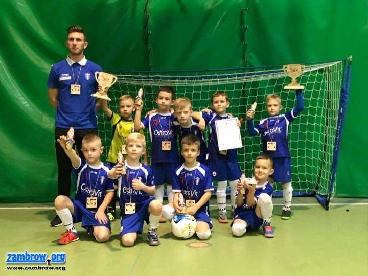 piłka nożna futsal, Pierwsze miejsce Olimpii Mińsku Mazowieckim - zdjęcie, fotografia