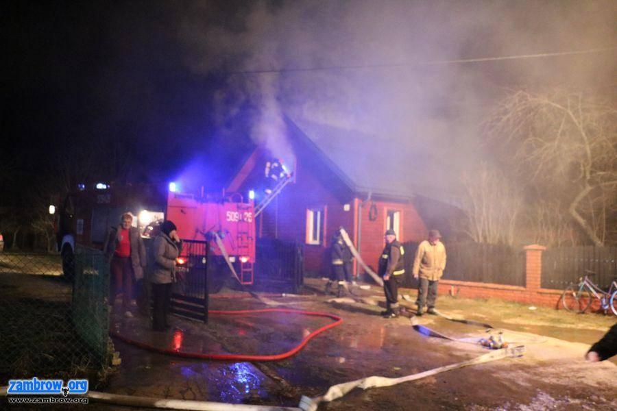 straż, Pożar Kołakach Kościelnych [video] - zdjęcie, fotografia