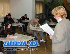 edukacja, Dyktando zambrowskie - zdjęcie, fotografia