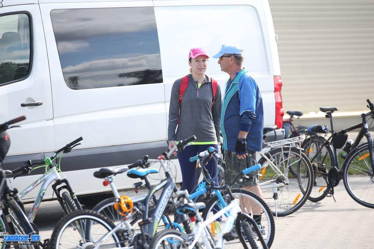 rowery i kolarstwo, Rowerzyści udali Szumowa [foto] - zdjęcie, fotografia