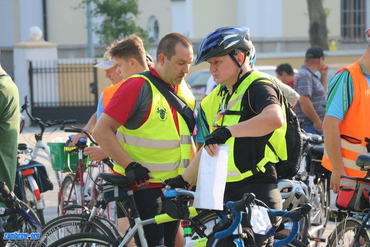 rekreacja wypoczynek, Wyruszyli pielgrzymkę rowerową Hodyszewa [foto] - zdjęcie, fotografia