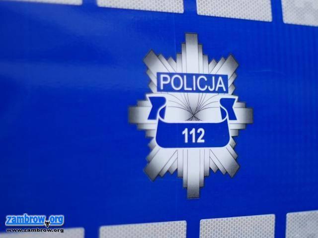 osoby poszukiwane, Zambrowski policjant służbie zatrzymał poszukiwanego mężczynę - zdjęcie, fotografia