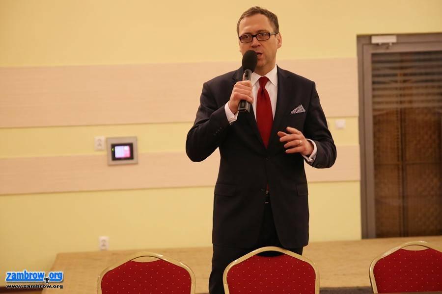 partie polityczne, Spotkanie kandydatem senatora Szczepanem Barszczewskim [foto+video] - zdjęcie, fotografia
