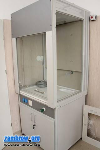 inwestycje, laboratorium niedługo Zambrowie - zdjęcie, fotografia