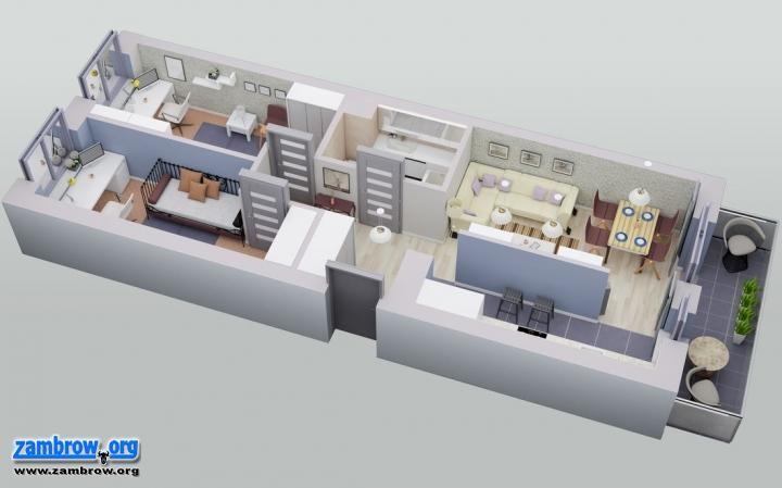 artykuł sponsorowany, mieszkania apartamenty Zambrowie [wizualizacje] - zdjęcie, fotografia