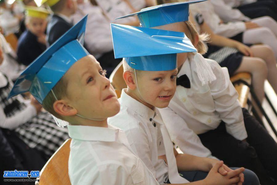 edukacja, Pasowanie pierwszoklasistów zambrowskiej