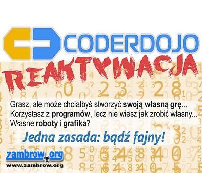 edukacja, CoderDojo reaktywacja! - zdjęcie, fotografia