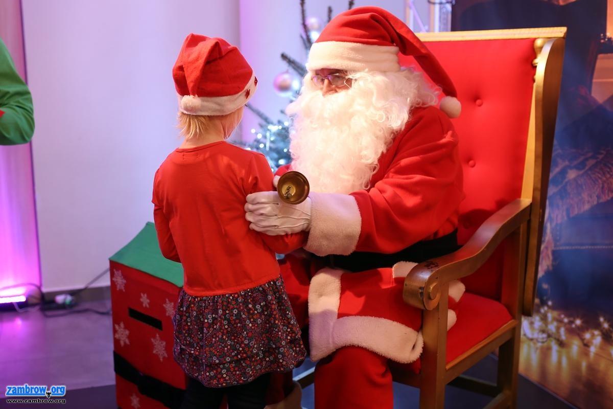 świąteczne, Mikołajki Zambrowie [foto+video] - zdjęcie, fotografia