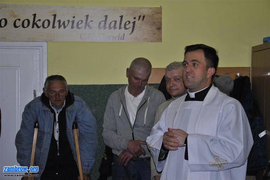 świąteczne, Wielkanocne spotkanie Caritas - zdjęcie, fotografia
