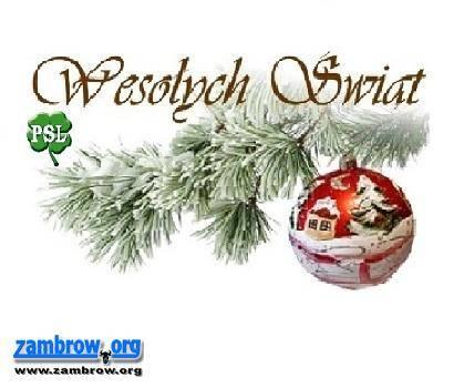 artykuł sponsorowany, Zarząd Powiatowy życzy wspaniałych Świąt Bożego Narodzenia - zdjęcie, fotografia