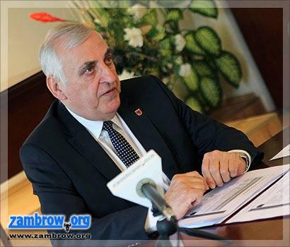 samorząd, Konferencja prasowa burmistrza [retransmisja] - zdjęcie, fotografia