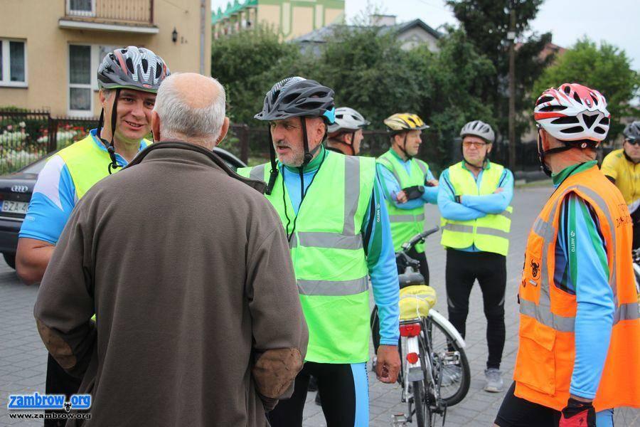 rowery i kolarstwo, Wyruszyli rowerami Hodyszewa [foto] - zdjęcie, fotografia