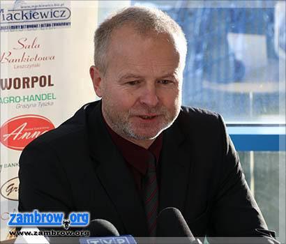 piłka nożna futsal, Trener Piotr Rzepka zwolniony Olimpii Zambrów - zdjęcie, fotografia