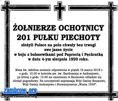 wiadomości lokalne, Znany termin pochówku żołnierzy polskich poległych - zdjęcie, fotografia