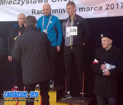 bieganie lekkoatletyka unihokej, Biegowe sukcesy zawodnika Sporteam - zdjęcie, fotografia