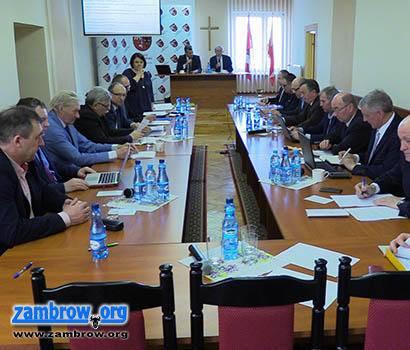 samorząd, sesja Powiatu Zambrowskiego [retransmisja] - zdjęcie, fotografia
