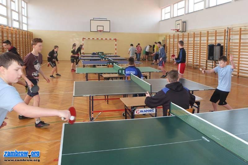 sport_, Rywalizowali tenisie stołowym [foto] - zdjęcie, fotografia