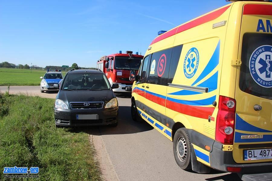 policja, ustąpił pierwszeństwa motocykliście [foto] - zdjęcie, fotografia