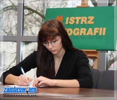 edukacja, wyłoni mistrza ortografii szkół ponadpodstawowych - zdjęcie, fotografia