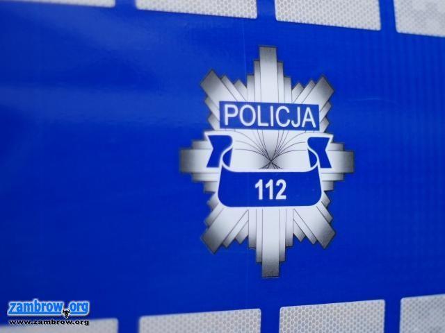 policja, Jeden wypadek pięć kolizji potrącenia pieszych - zdjęcie, fotografia