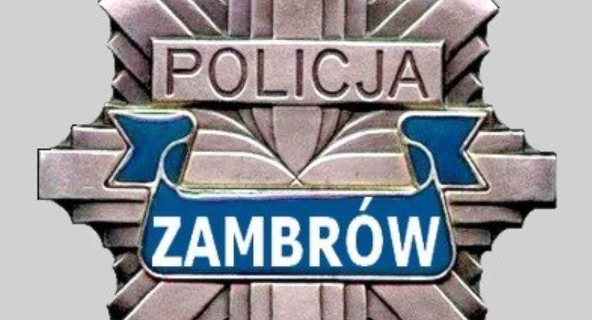 policja, Majowy weekend zambrowskich drogach - zdjęcie, fotografia