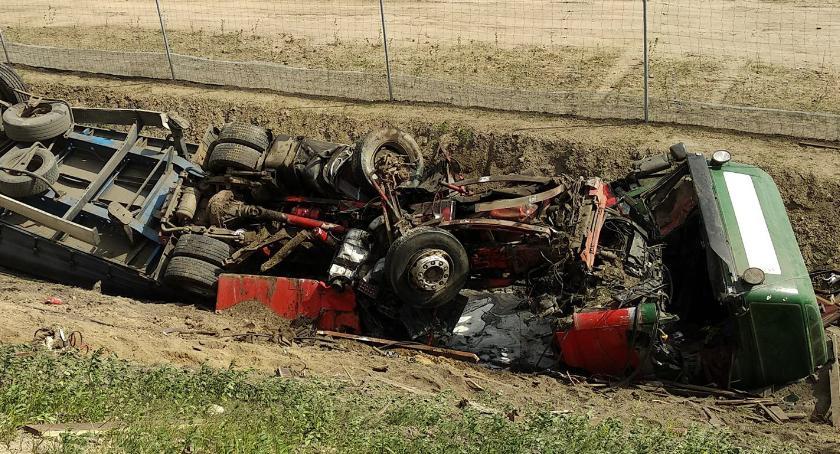 Wypadek na DK8. Droga do Białegostoku zablokowana [foto]