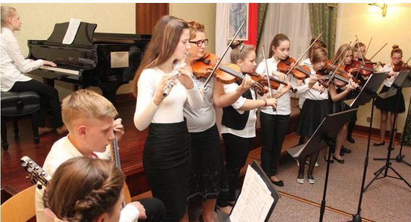 edukacja, Dzień otwarty Państwowej Szkole Muzycznej - zdjęcie, fotografia